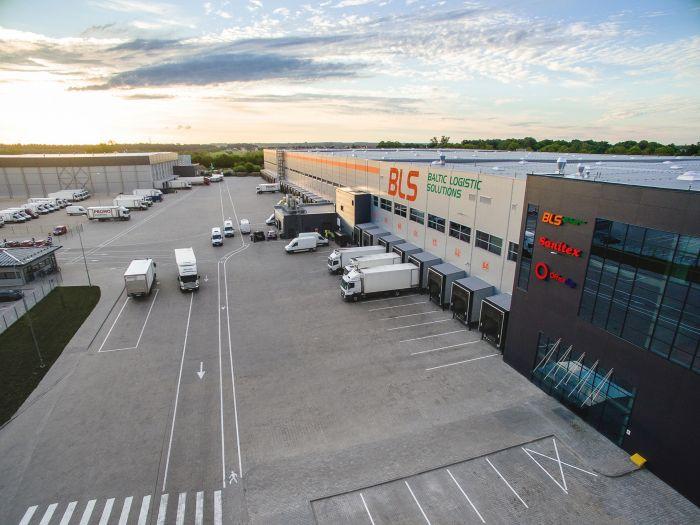 Naujas logistikos centras Latvijoje